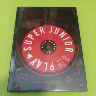 全新未拆 Super Junior 8th Album Black Suit
