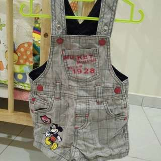 anakku coverall with tshirt