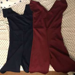 Rompers 2 For 200 Used Only Once