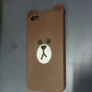 香港Line friends store iphone6+/6S+手機殼(Brown)