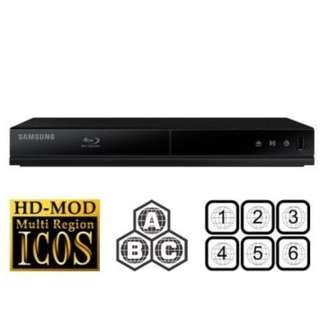 Samsung blueray dvd player