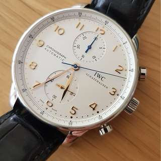 The IWC Portugieser Chronograph Reference 3714