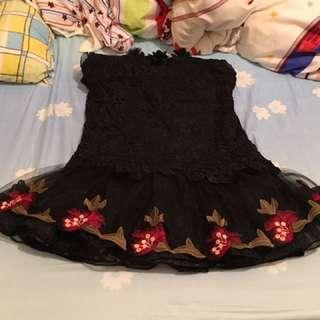 喱士繡花裙,只穿了兩次
