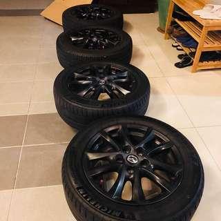 Mazda 3 16 inch Rims