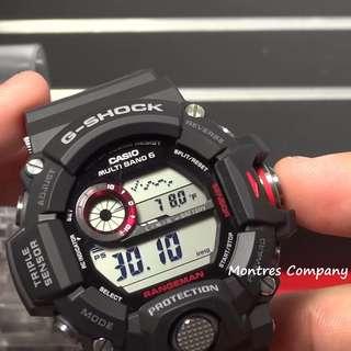 Montres Company香港註冊公司(25年老店) CASIO g-shock GW-9400 GW-9400-1 兩隻色都有現貨 GW9400 GW94001