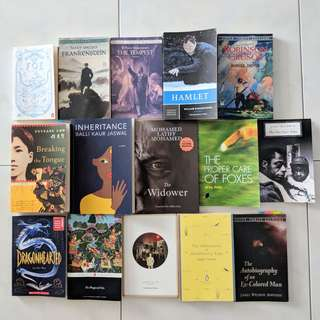 NTU English Literature Texts (1)