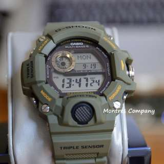 Montres Company香港註冊公司(25年老店) CASIO g-shock GW-9400 GW-9400-3 兩隻色都有現貨 GW9400 GW94003