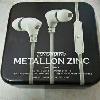 Brand New, Gravio Prive Metallon Zinc - Ghost White