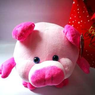🆕 Blue Magic Pepperonni Pig Plush Stuffed Toy