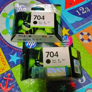 Hp 704 black ink