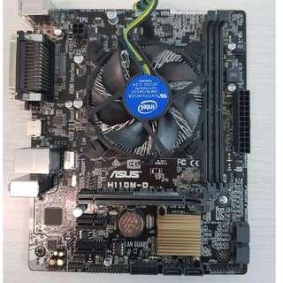 Asus H110M-D Motherboard (Back Panel)
