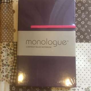 BN sealed monologue notebook