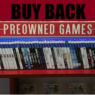 [Highest Buy Back] All Switch, 3DS Games!