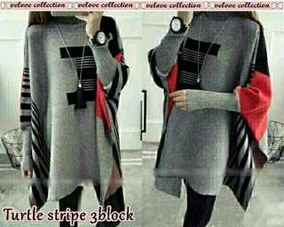 Stripe 3block abu