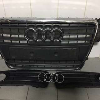 Audi A4 B8 Stock Grill Fog Grill