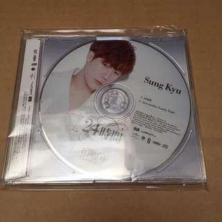 Infinite 24 hours Japan press Sungkyu ver.