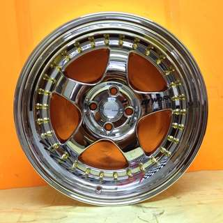 17 inch SPORT RIM WORK MEISTER S1 SUPER CHROME