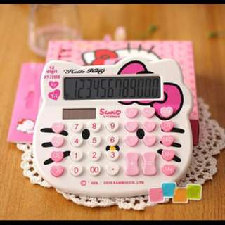 7-11 Hello Kitty Calculator