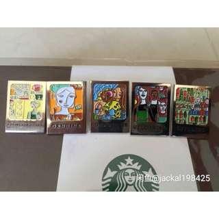 Starbucks Limited Edition 5B Pin Set