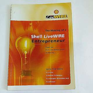 Shell Live WIRE Entrepreneur Book