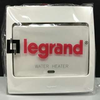 Legrand 1G DP Switch w/ LED Indicator Water Heater