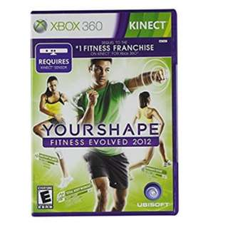 Xbox 360 Game: Your Shape Fitness Evolved
