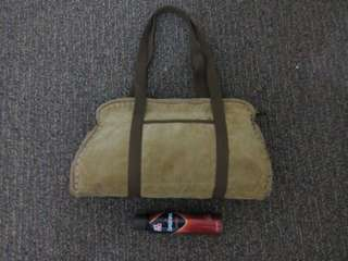 Suede Hand Bag