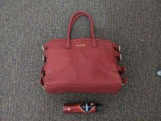 EGOIST red hand bag
