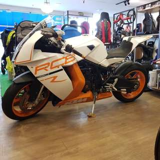 KTM RC8 (New 10Yrs COE)