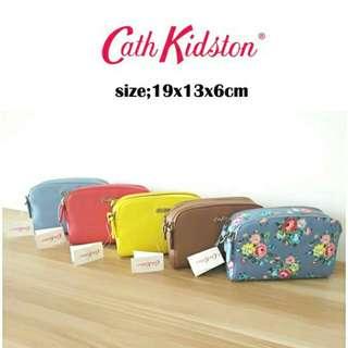cath kidston 2 zipper sling bag