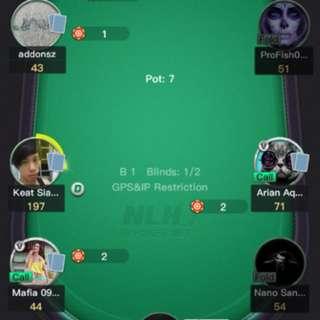 Online poker agent!