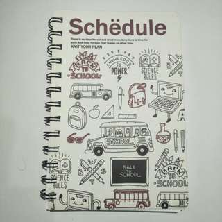 Planner Book for school/work - Monthly Planner , Weekly Planner