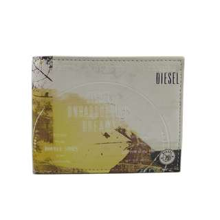 Diesel 男裝銀包 (100% 正品) 現貨 NEELA XS PU - wallet X01255-PR795-H4344  黃色