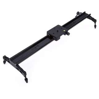 WH60R 60CM ( 23.6-Inch ) DSLR DV Camera Damping Track Dolly Slider Video Stabilizer System