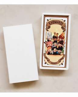 EXOWARTS card set (@/soraahaha)