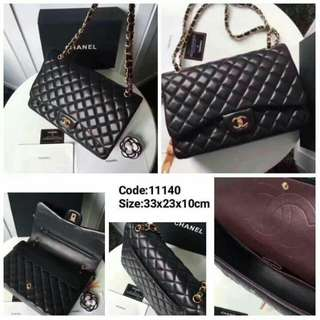 Chanel Lambskin With GHW