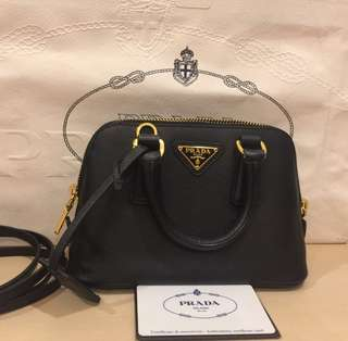 Authentic Prada Saffiano Mini
