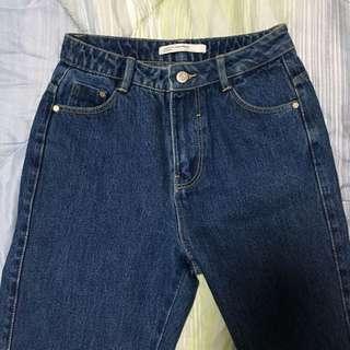 HW Zara Trafaluc Mom Jeans
