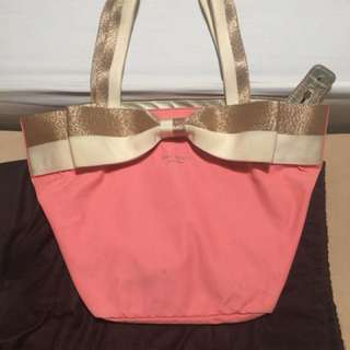 Kate Spade Coral Bow Tote