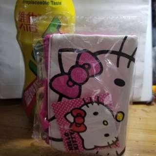 全新正版Hello Kitty 拉鍊袋