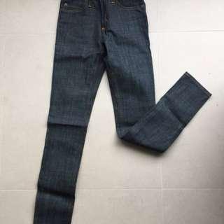 全新 Cheap Monday 高腰skinny牛仔褲 size 24