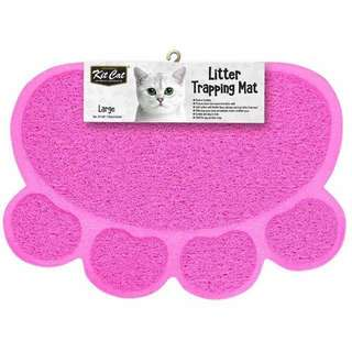 Kit cat litter trapping mat