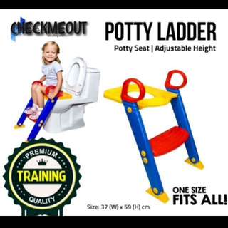 🔥FREE POS🔥Kids Potty Seat Training Ladder Toilet Bowl