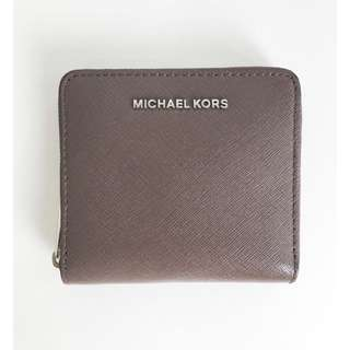 💯 AUTHENTIC Michael Kors Jet Set Travel Card Case Cinder MD ZA Leather (CLEARANCE)