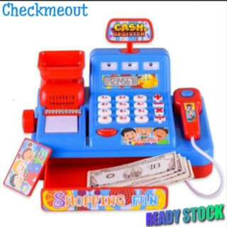 🔥FREE POS🔥Pretend Play Cash Register Set