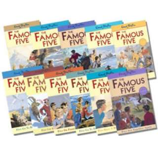 Famous Five series by Enid Blyton