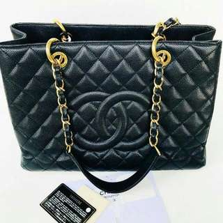 Complete with box & receipt Chanel GST GHW 16 ( bag db box rec booklet holo card )-515