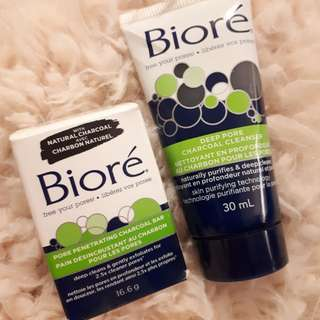 Biore Pore Cleanser Soap Bar & Wash