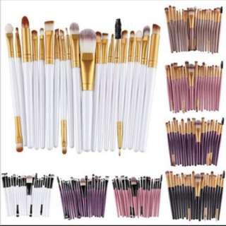 [Preorder] 20pcs Makeup Brushes
