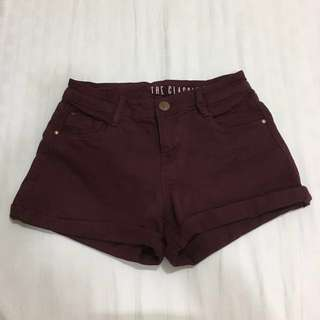 The Classic Mid Rise shorts